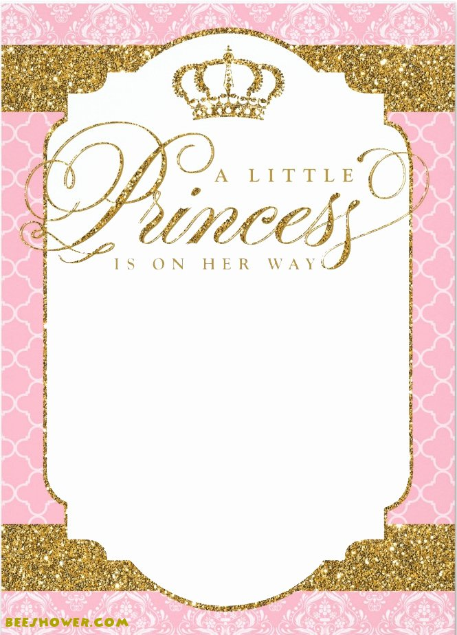 Princess themed Baby Shower Ideas