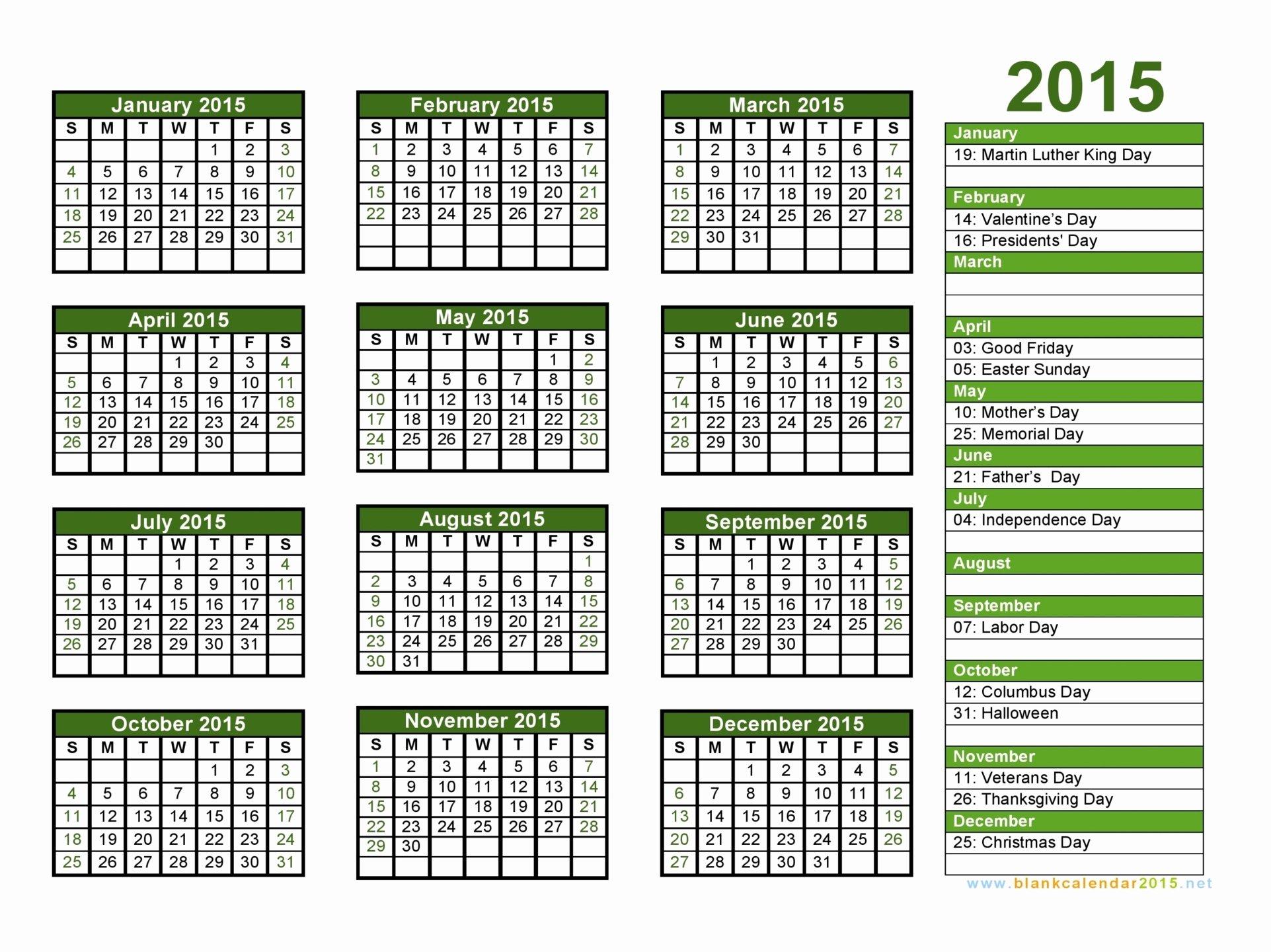 Print 2015 Calendar Free – 2017 Printable Calendar