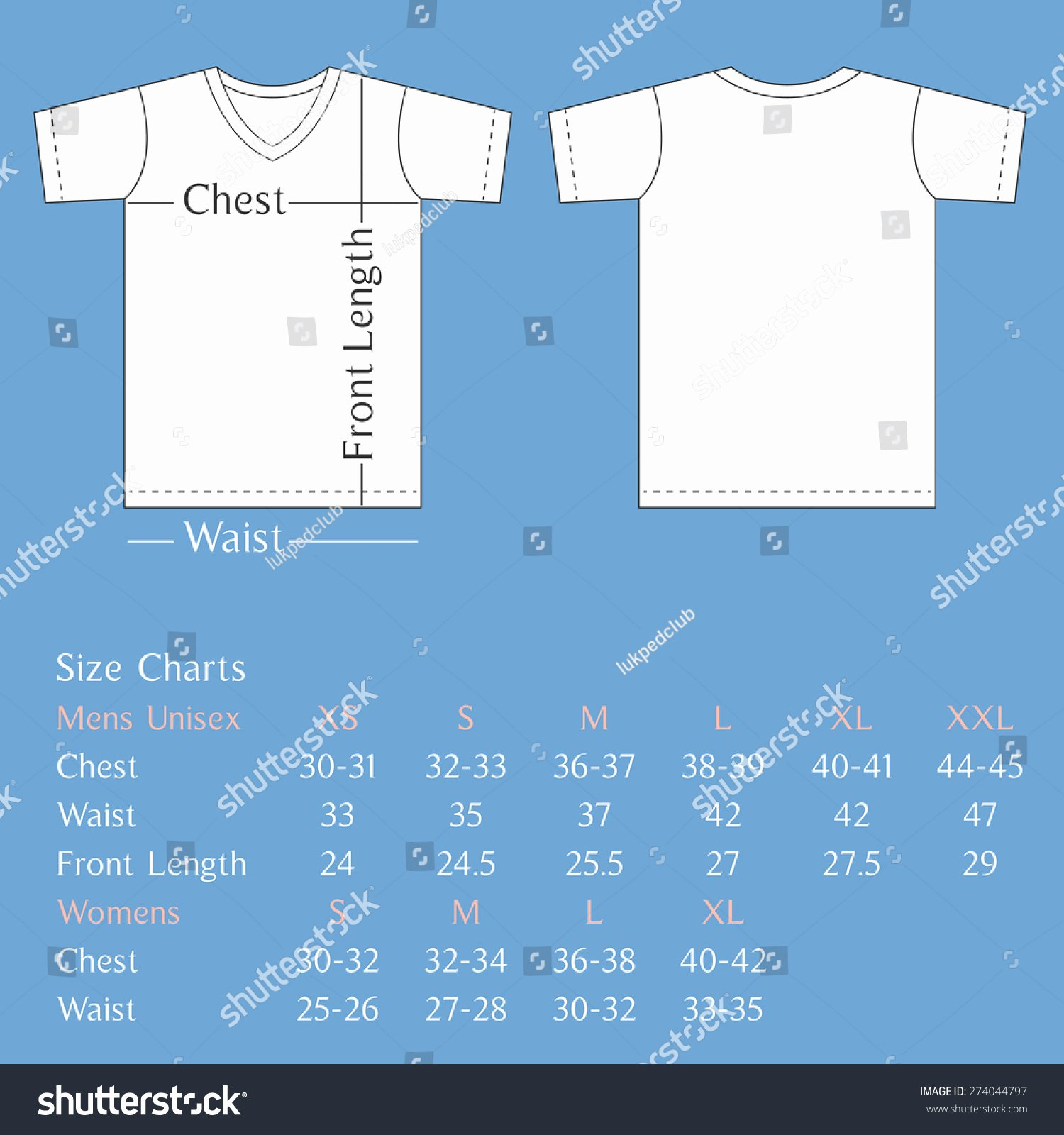 Print Locations T Shirt Design Size Template