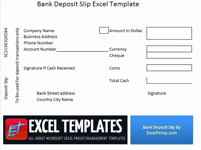 Print Your Own Deposit Slips – Misdesign