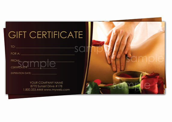 Print Your Own Gift Certificates Using Easy Templates