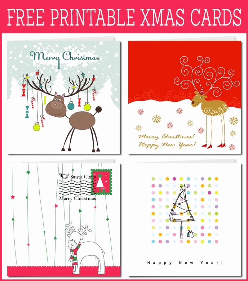 Print Your Own Holiday Greeting Cards with Free