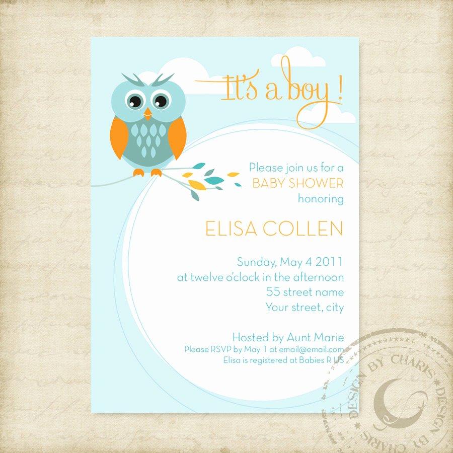 Printable Baby Shower Flyer Invitations