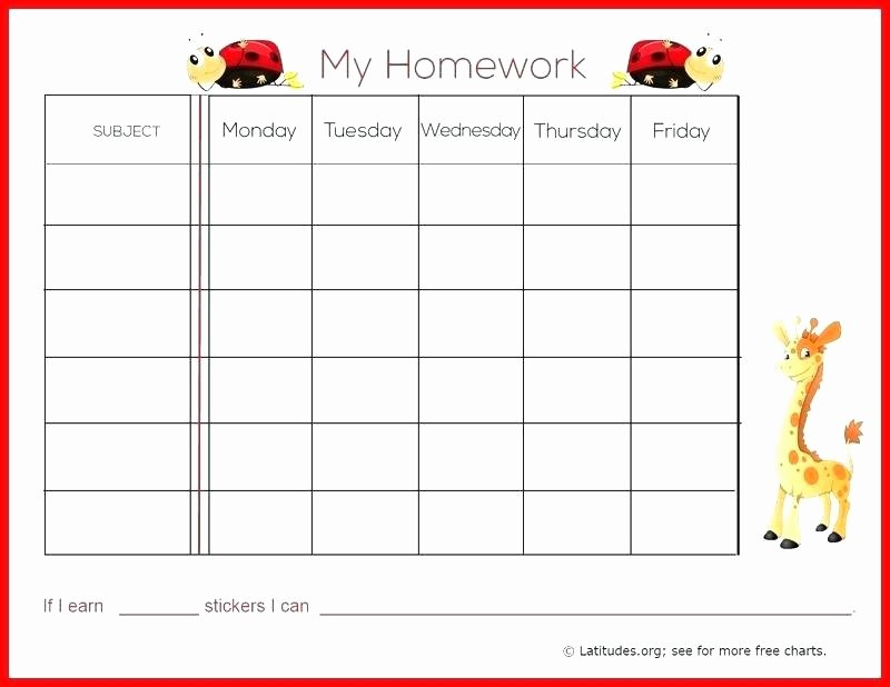Printable Behavior Charts for Teachers – originatedfo