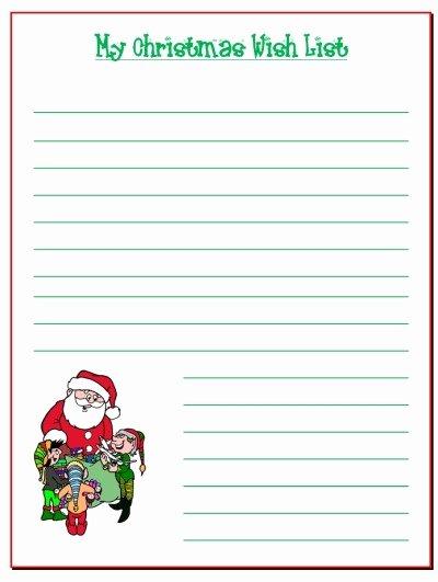 Printable Birthday Wish List Template – Best Happy