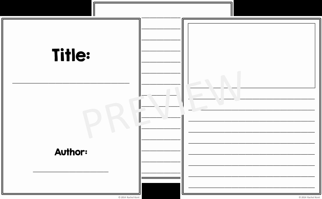 Printable Booklet Template