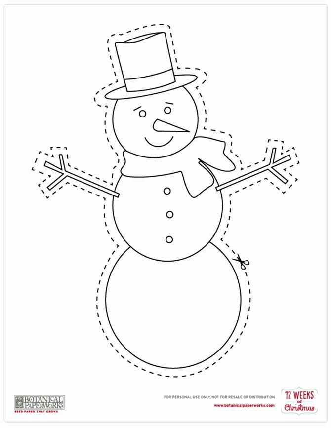 Printable Christmas Cutouts