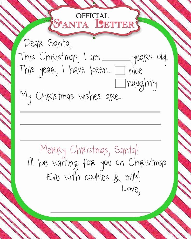 Printable Christmas Letter Templates – Fun for Christmas