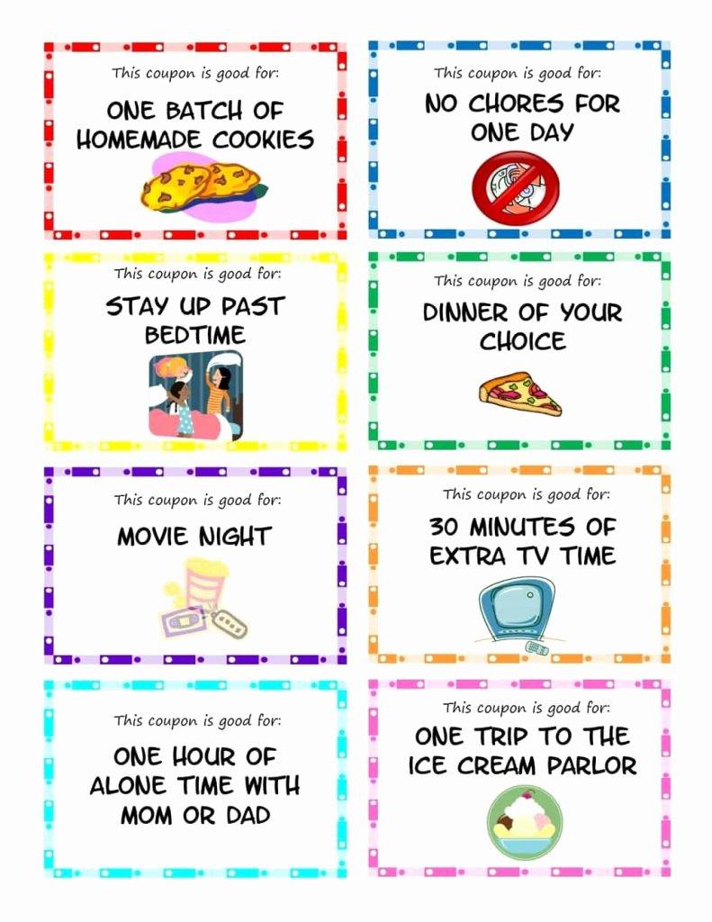 Printable Coupons for Kids