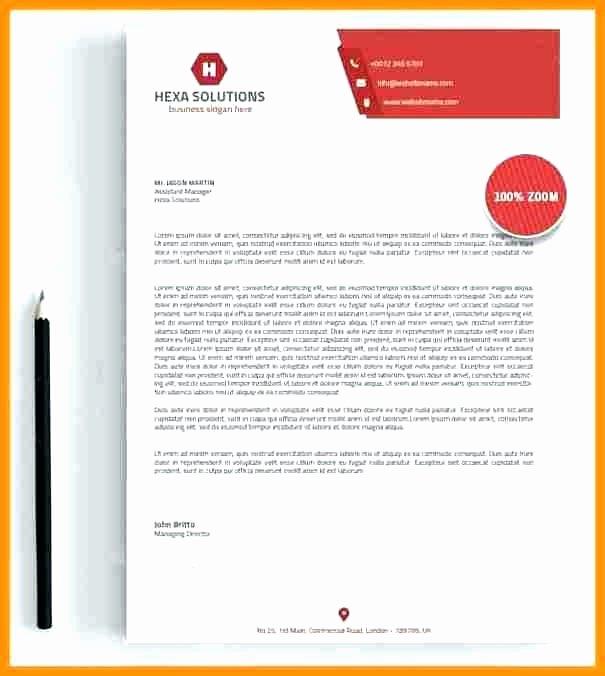 Printable Design Letterhead Free Word format Template