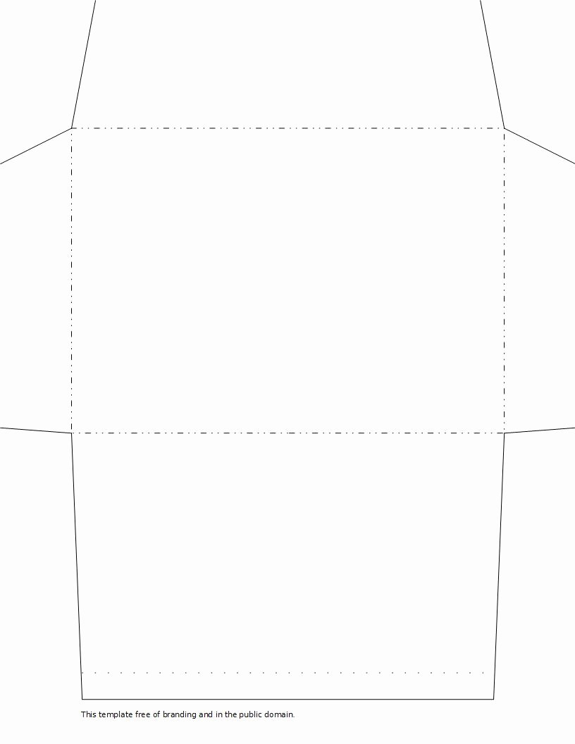 Printable Envelope Templates for Us Letter and 6x9 Paper
