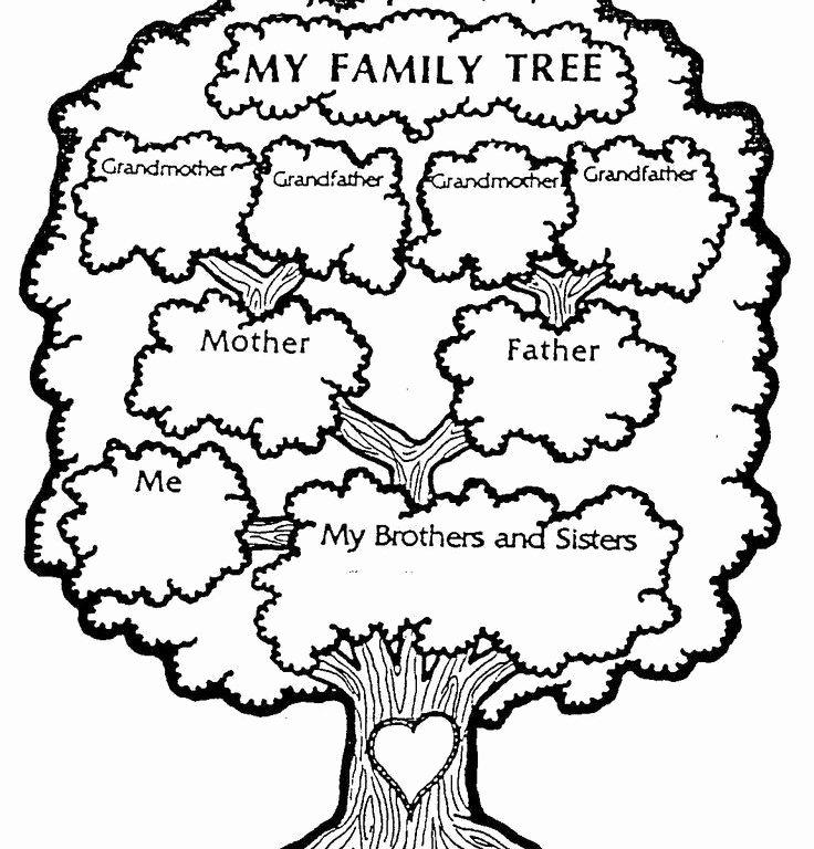 Printable Family Tree for Preschool Printable Pages