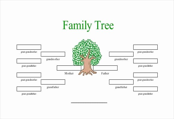 Printable Family Tree with Siblings Printable Pages