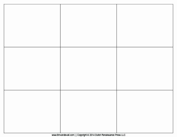 Printable Flash Card Template Free Blank Templates Cards