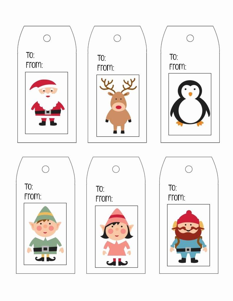 Printable Gift Tag Templates