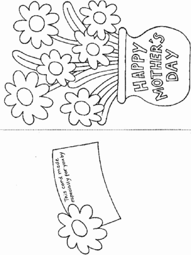 Printable Happy Mother S Day Greeting Card Template