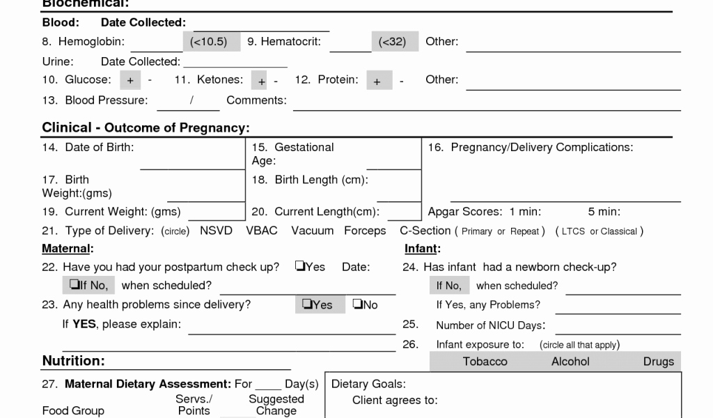 Printable Head to toe assessment form 27 Nursing Survey