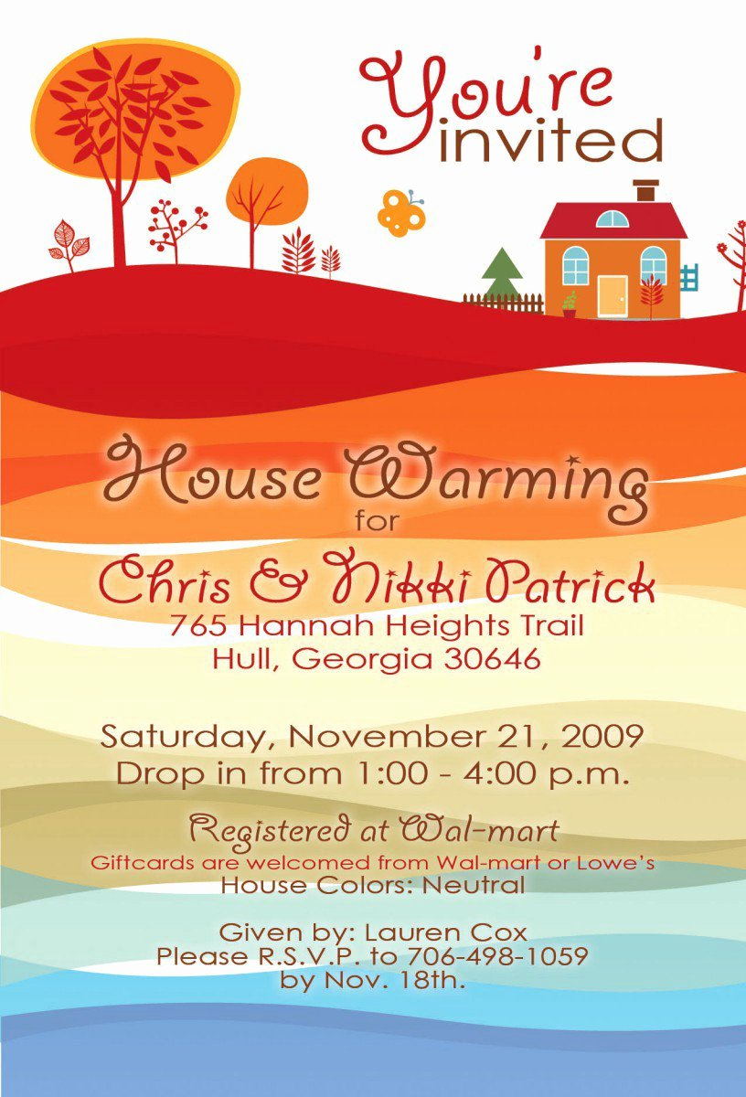 Printable Housewarming Invitations Free