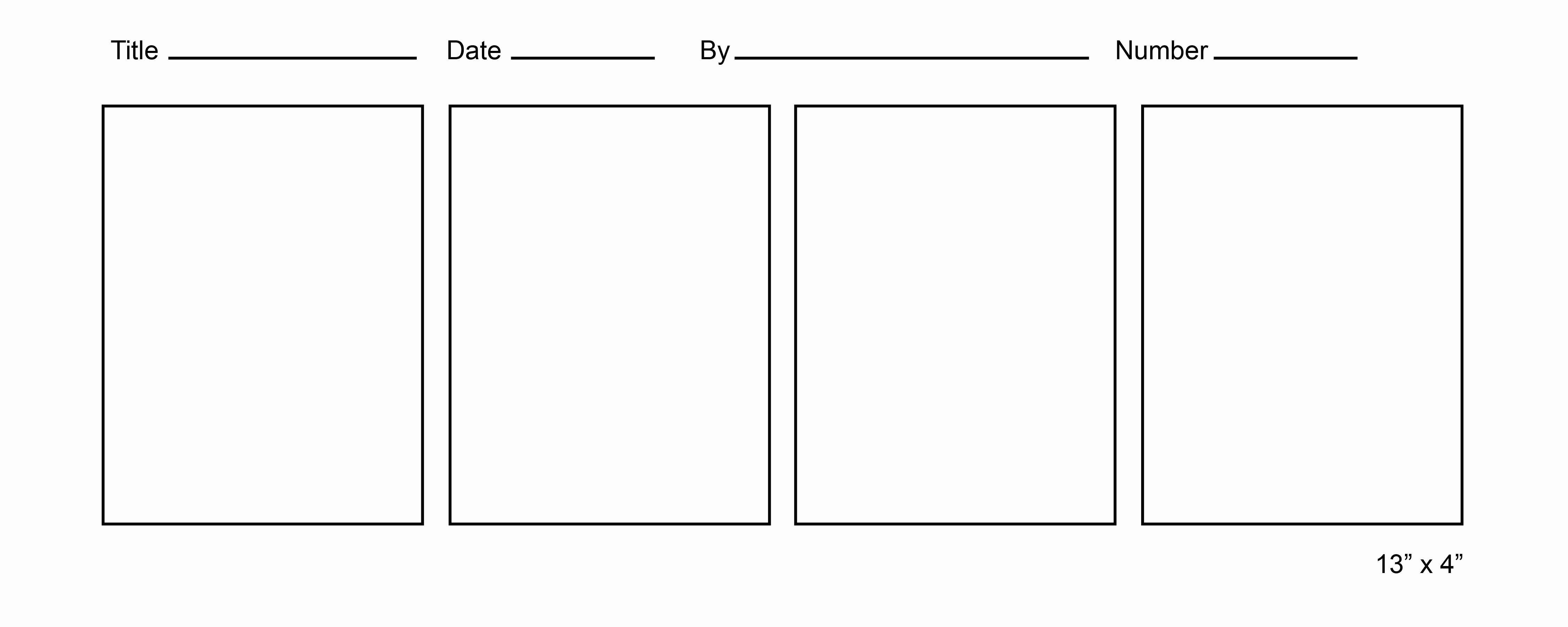 Printable Ic Strip Template