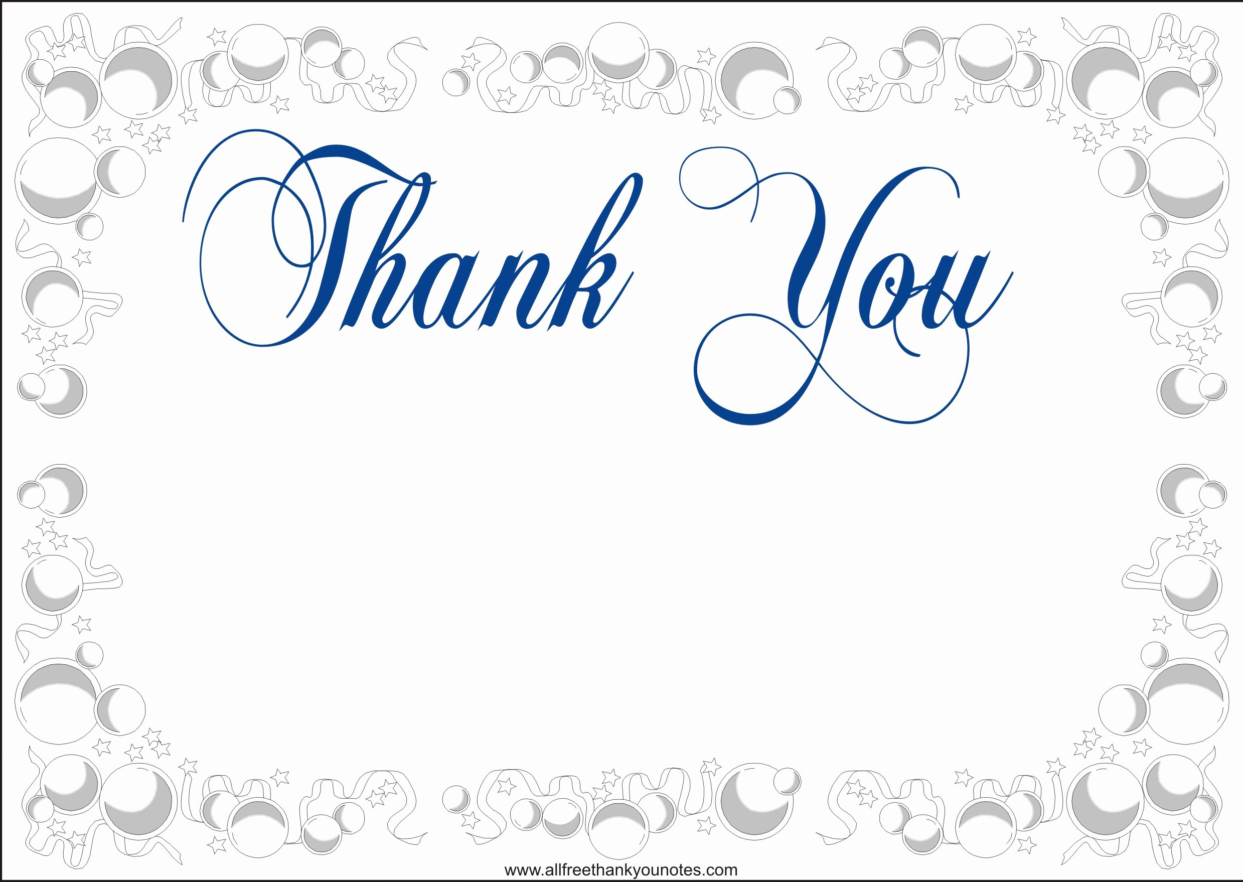 Printable Ideas Thank You Card Templates Wording Best