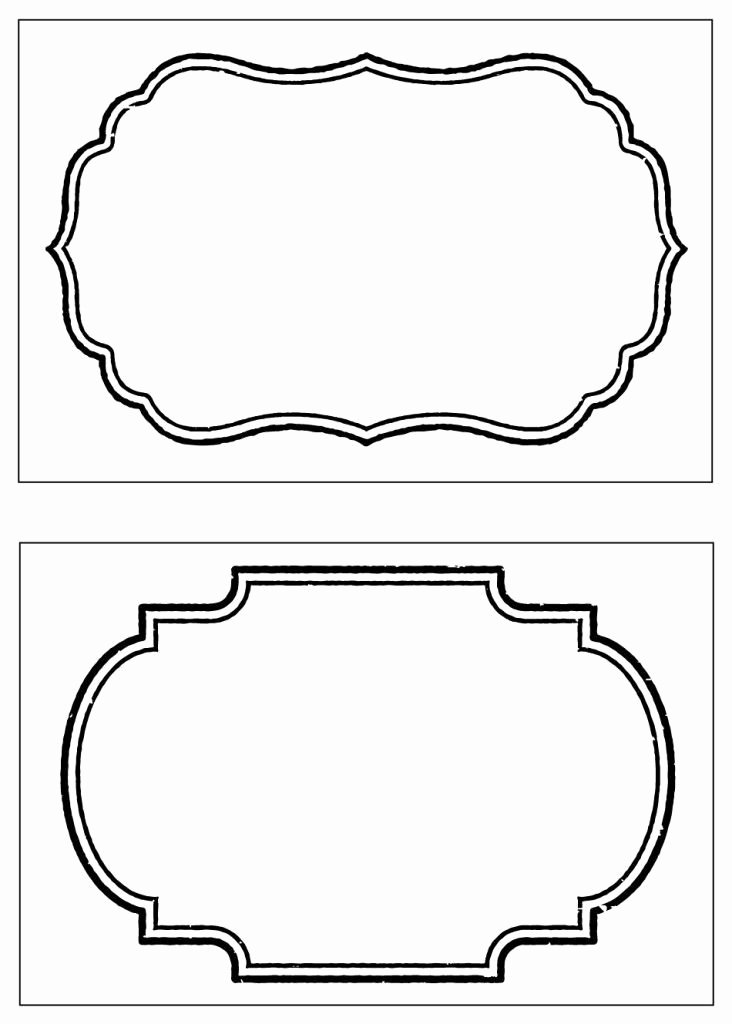 Printable Label Templates