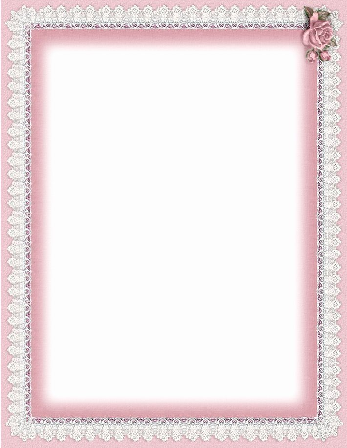 Printable Letter Writing Paper with Lines Printable