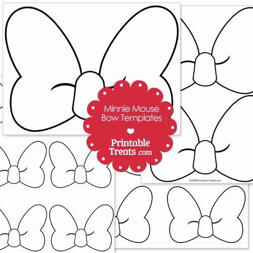 Printable Minnie Mouse Pattern