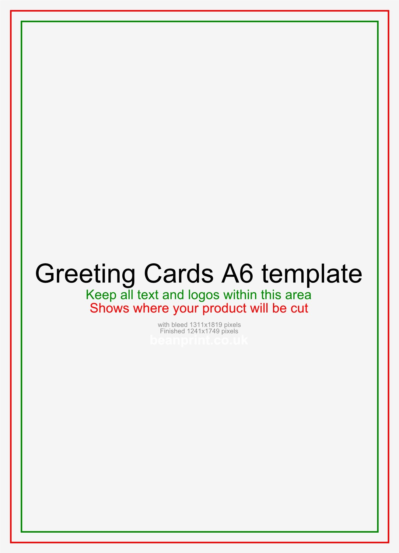 Printable Necktie Greeting Card Template