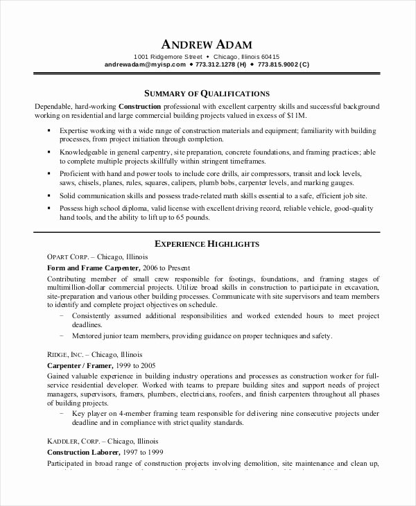 Printable Resume Template 35 Free Word Pdf Documents Download