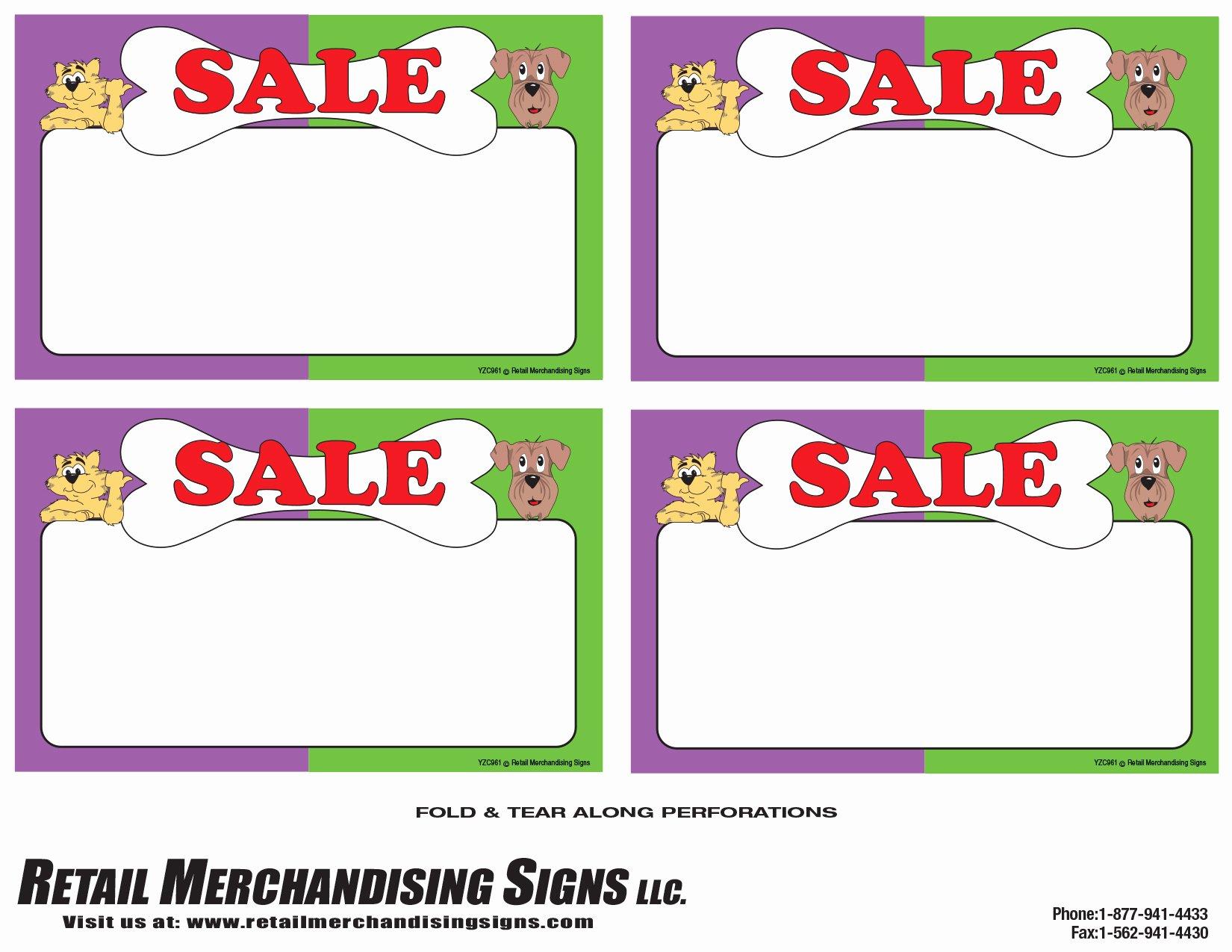 Printable Retail Tags Free Price Tag Template 101 Printables