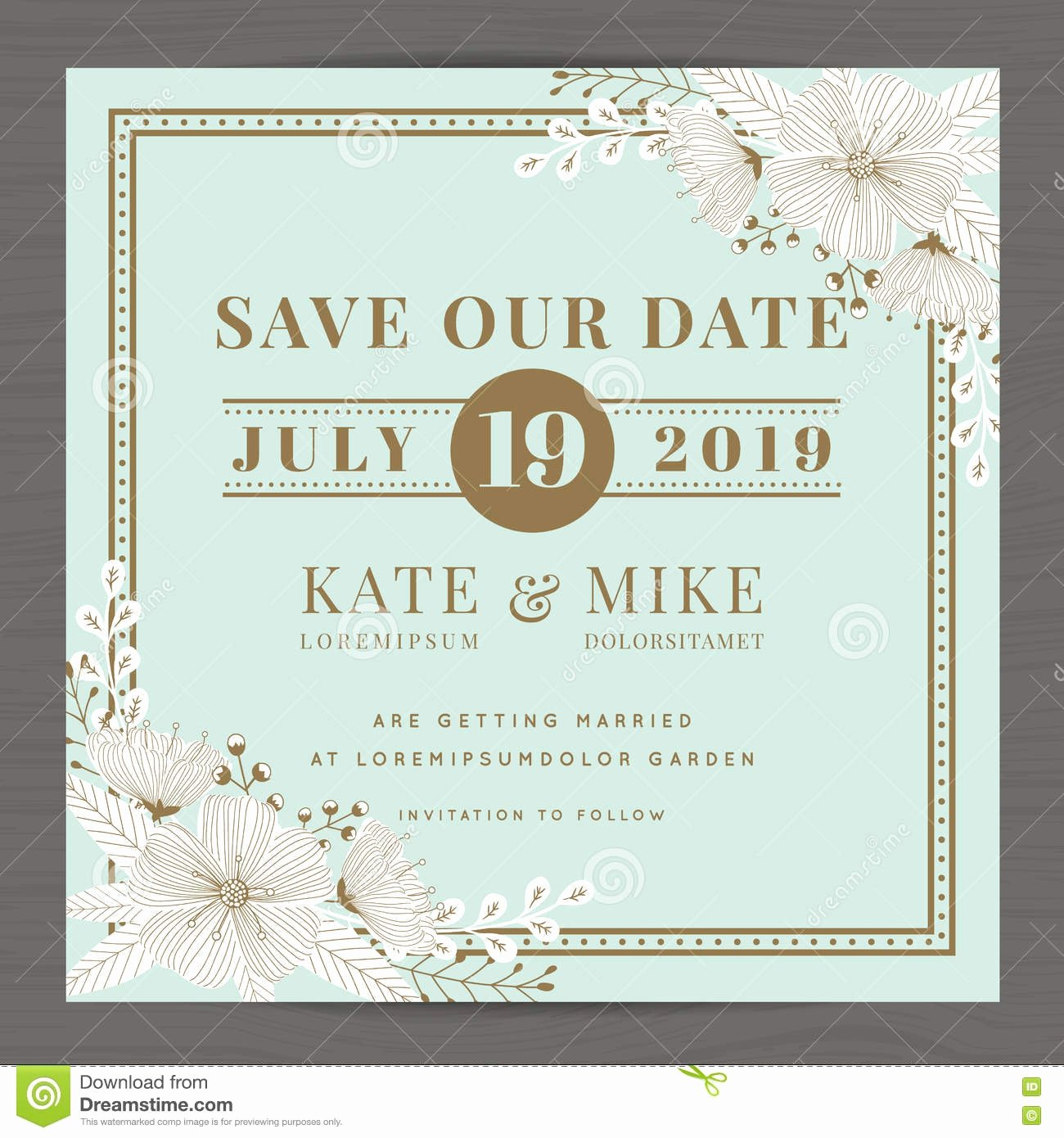 printable save the date postcard templates