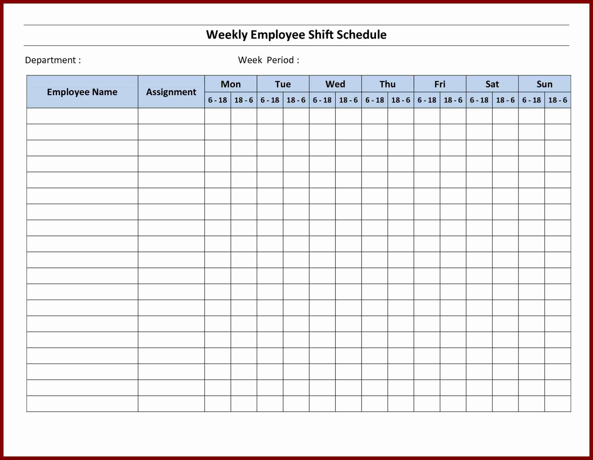 Printable Schedule Maker Sample Microsoft Planner