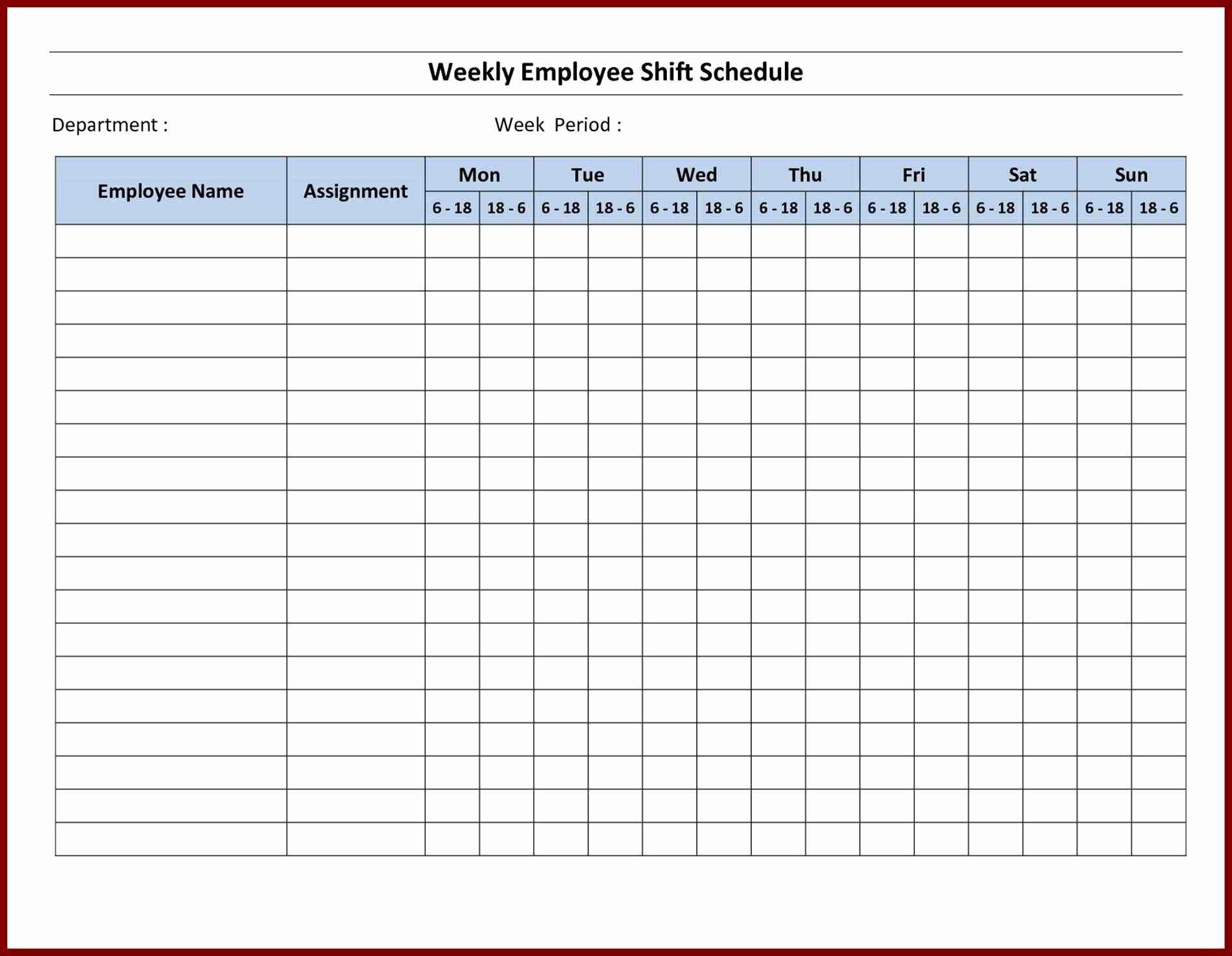 Printable Schedule Maker Sample Microsoft Planner