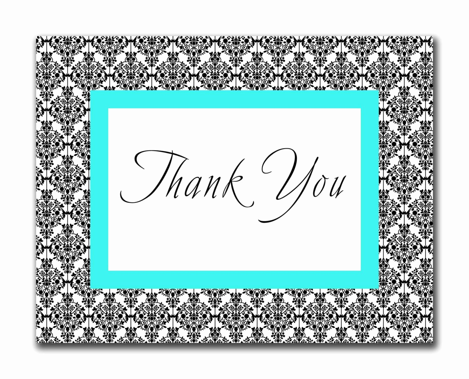 Printable Thank You Standard Envelope Rice N Three