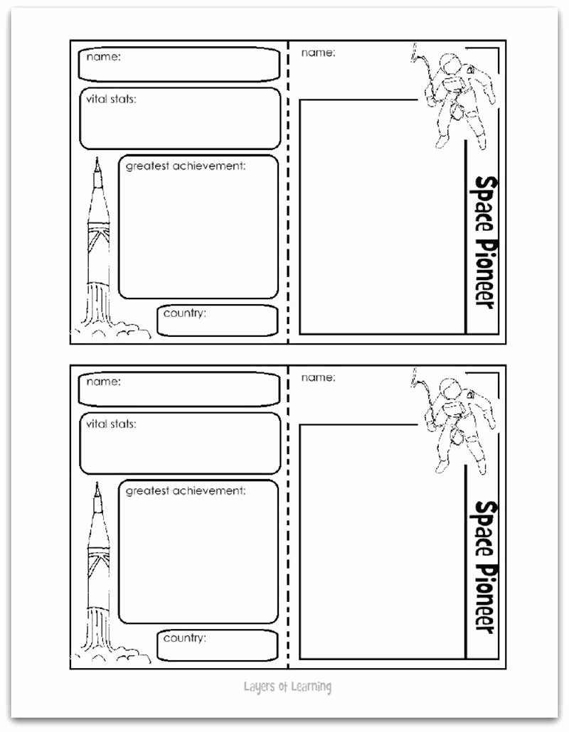 Printable Trading Card Template