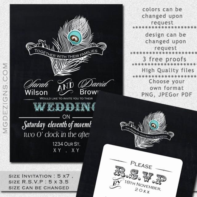 Printable Wedding Invitation Template Garden Wedding