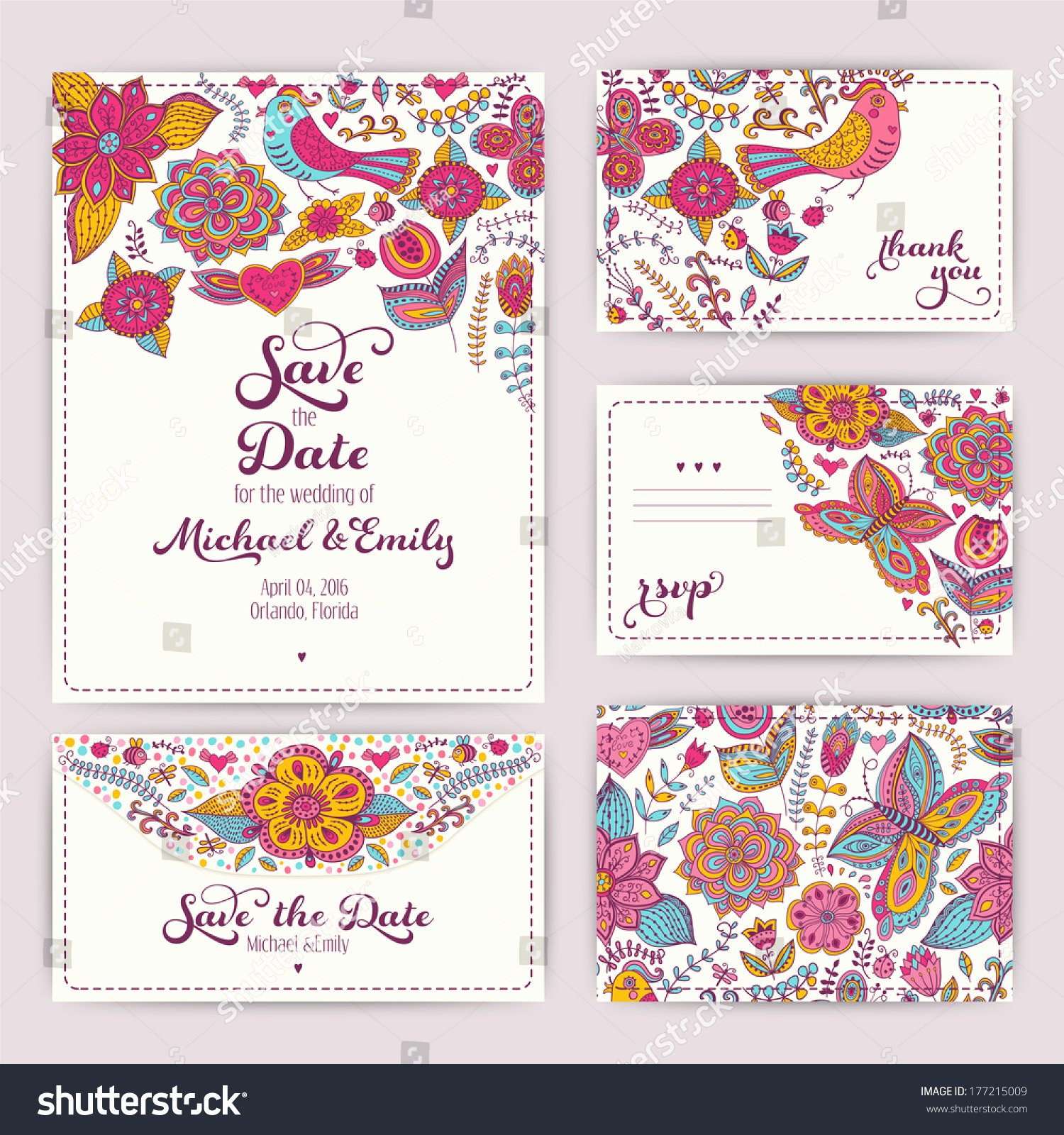 Printable Wedding Invitation Template Invitation