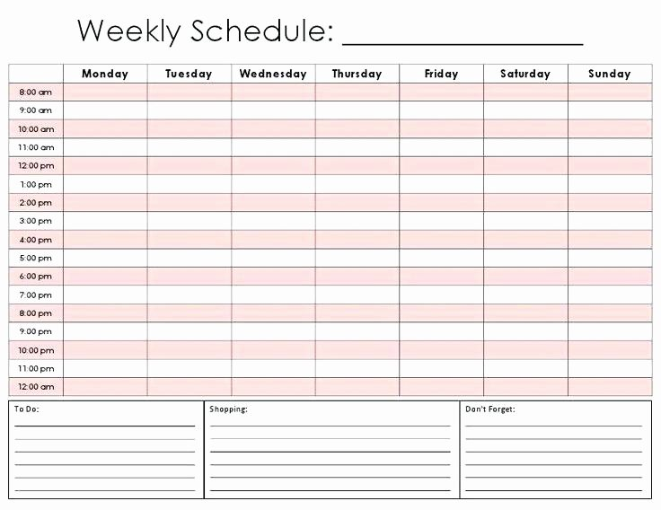 Printable Weekly Appointment Calendar Printable 360 Degree