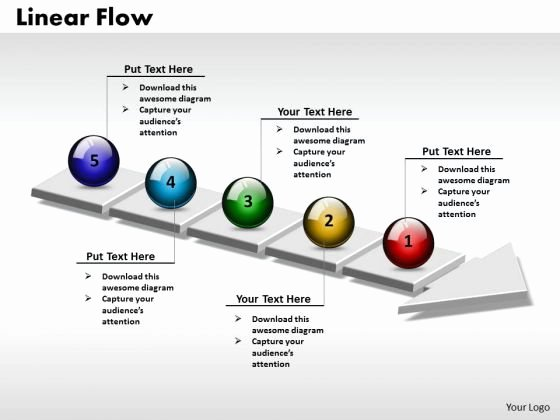 Process Powerpoint Template Ppt 3d Circle Arrow Process