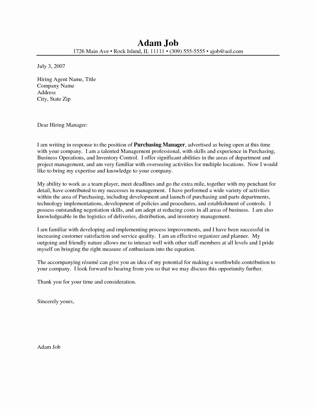 Procurement Ficer Resume Cover Letter Bongdaao