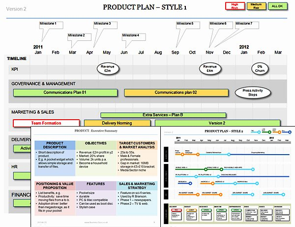 Product Plan Define Your Product Download Templates