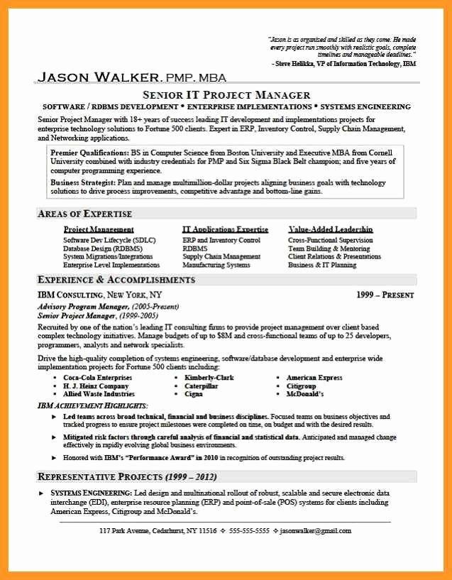 Professional Ac Plishments Resume