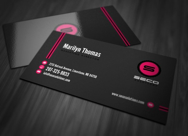 Professional Business Card Template Vandelay Design