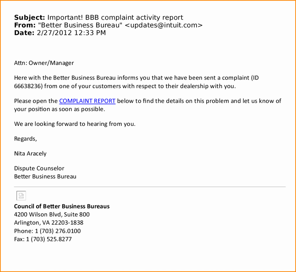 Professional Business Email format Template Example & Sample