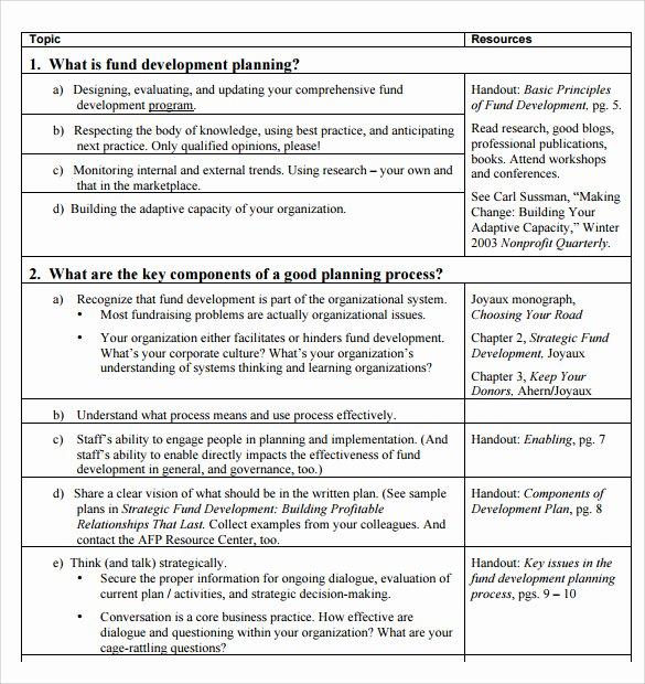 Professional Development Plan Samples
