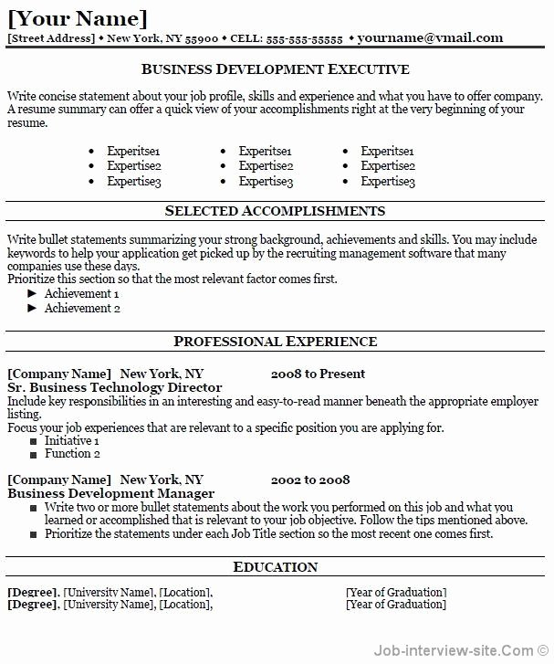 Professional Development Resume Best Resume Gallery