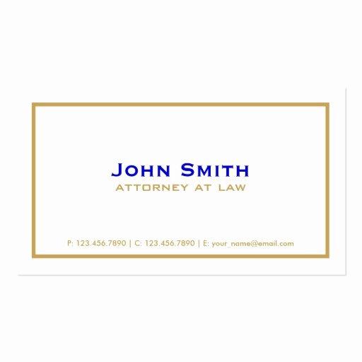 Professional Elegant Plain Simple attorney White Double