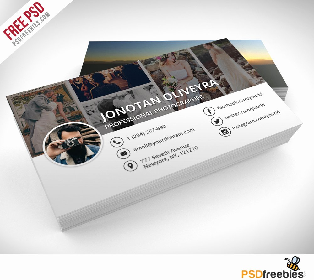 Professional Grapher Business Card Psd Template