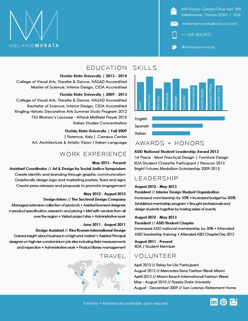 Professional Graphic Design Cv Resume Template