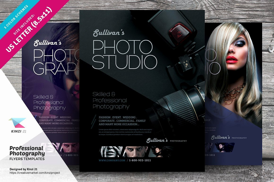Professional Graphy Flyer Flyer Templates